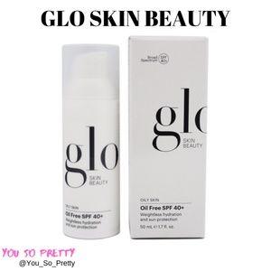 Glo Oil Free SPF 40+ Sunscreen  NIB